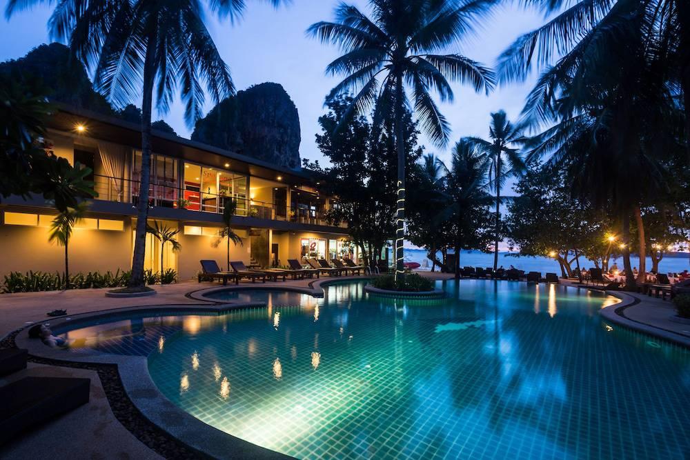 Sand Sea resort, Railay West beach Krabi Thailand